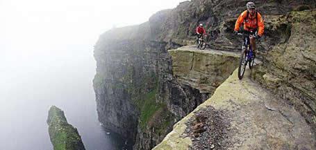 riding on the edge